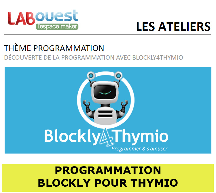 MINIFICHE PROGRAMMATION BLOCKLY